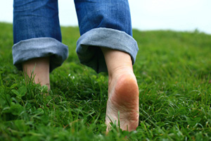 Day 11- Walk Barefoot, Even If For Just One Minute
