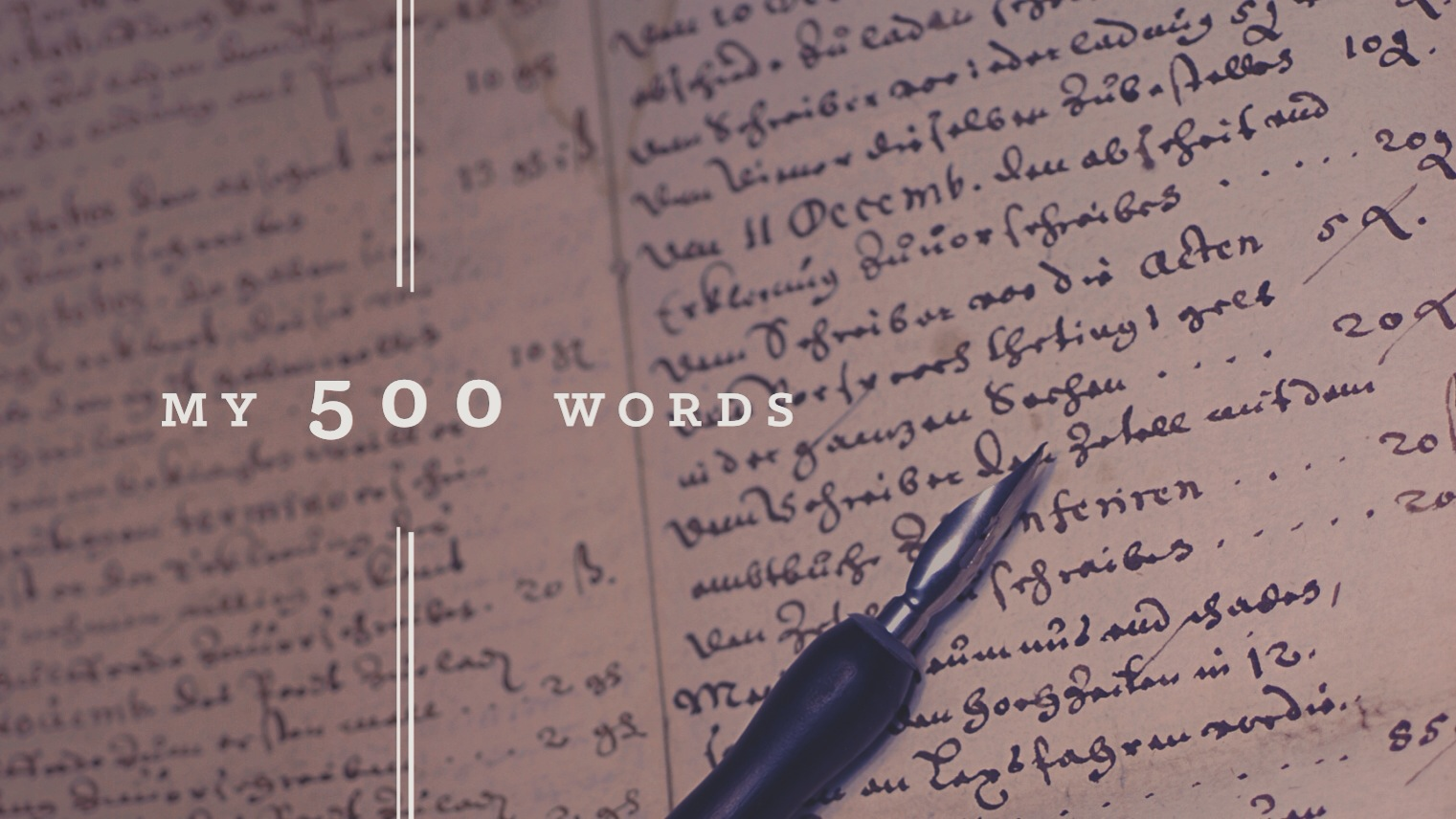 My 500 Words – Accepting The Feeling Of Sadness Without A Cause