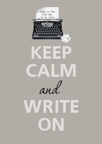 My 500 Words-Keep Calm And Write On
