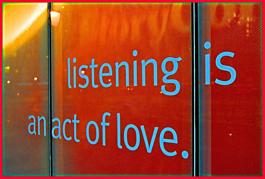 Listening, Love