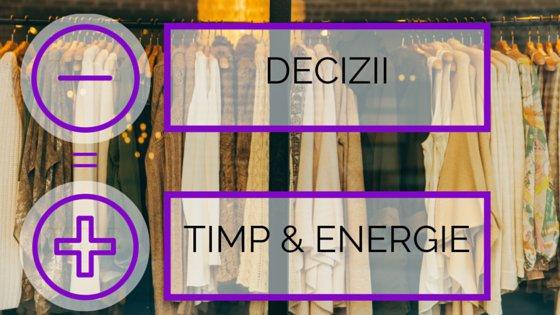 Salvează-ți Timpul și Energia Mentală Cu Garderoba De Un Minut