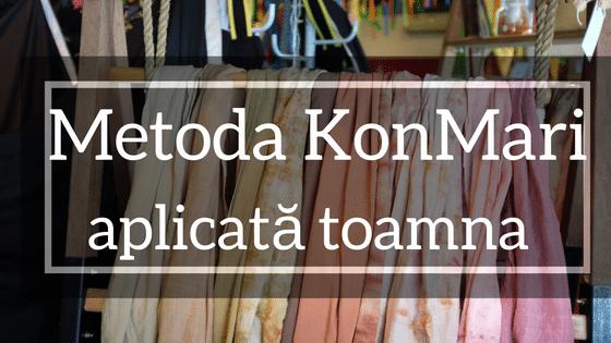 Metoda KonMari Aplicată Pe Garderoba De Toamnă/iarnă